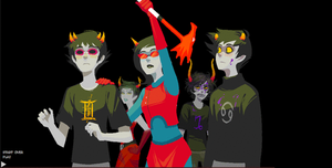 Homestuck Gif by TheKidWithCatEars