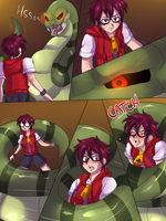 Snake squeeze Alois -01- by TightSquish