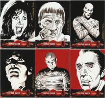 Hammer Horror Sketches by ryanorosco