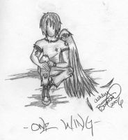 One Wing by Boomboom34