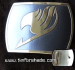 Fairy Tail brass belt buckle by TimforShade