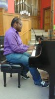 Playing some piano at my 5th recital by mylesterlucky7