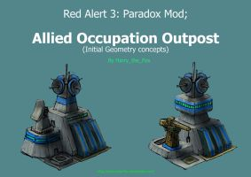 RA3 Paradox Mod Outpost by Harry-the-Fox