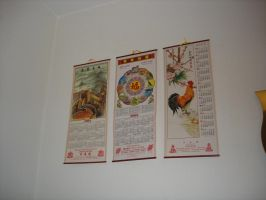 chinese calendars. by insomniana