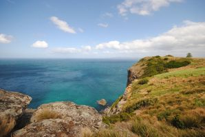 View from The Nut  - Stanley - Tasmania by fencer-chick