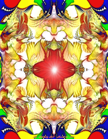 Fractal Abstract  3-21-2011 by Hillbillygirl