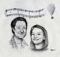 Giacchino and Me portrait request by RobtheDoodler