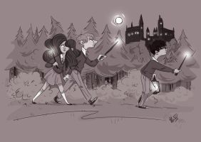 Wands out by Lelpel