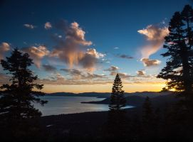 Incline Village Sunset by MartinGollery