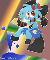 Kelsey the Dewott  by dustyhyena