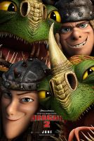 how to train your dragon 2 Ruffnut and Tuffnut by MelySky