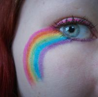 Paint a rainbow by Jennybicky