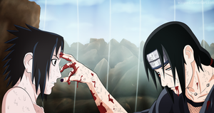 SPOILER - Uchiha Brothers by wasgoed
