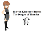 XS Dragon of Thunder Ilsa von Kliment by weapon13WhiteFang