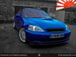 StandOut-Civic Coupe by Blu3i