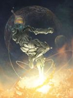 Antonio Caparo Cosmic Leap by ajcaparo