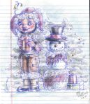Christmas Doodle by Neriah