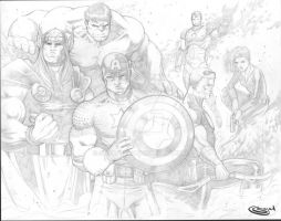 Avengers Pencils by Sajad126