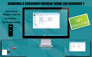 Windows 8 Theme for Windows 7 by RudeBoySes