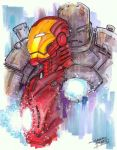 marker : Iron Man by KidNotorious