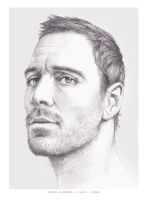 Michael Fassbender by Pacbee
