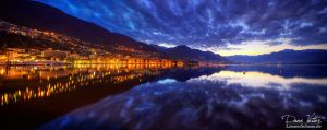 Locarno at sunrise by LinsenSchuss