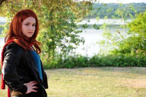 Amy Pond - The Girl Who Waited by moonflower-lights
