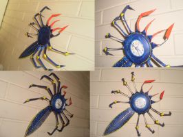 spider clock by bolarei
