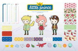 The Little Prince (Style Guide Illustrations) by AngelicaVillegas