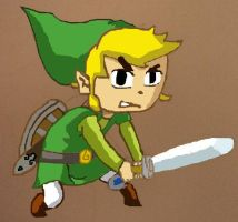 Toon Link by AlexCharly