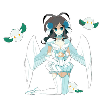 Pokemon white render 3 by IdolPrincess