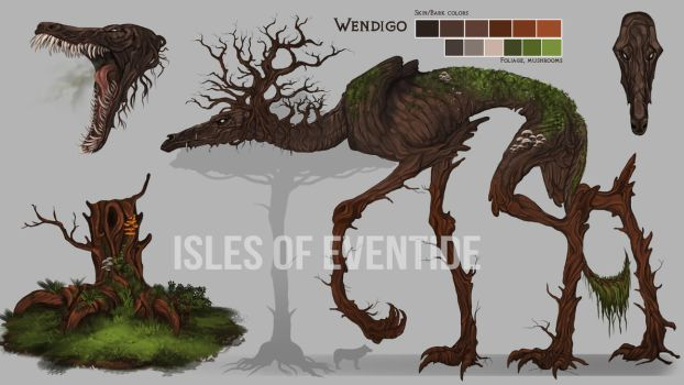 The Wendigo by KFCemployee