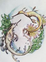Seahorses by cerealkira