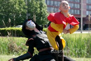 Take that Amon by Czarina-Wolf