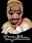 Twisty The Clown: American Horror Story by thinminmeg