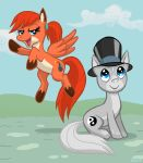 Ozy and Millie in Equestria by Pedantia