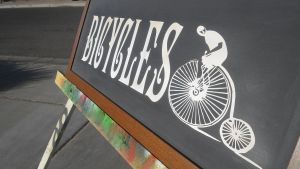 BICYCLES SIGN by spawker