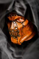 Horror Leather Mask by OsborneArts