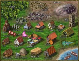 World Map for MMORPG by Artires