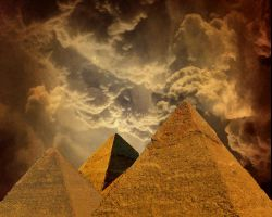 Egyptian Pyramids pngs by manoluv