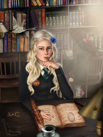 Game of Hallows - Daenerys Targaryen by SleepyBeautyArt