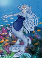 Under the sea by p3rsonalslav3r
