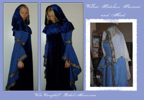 Sideless Surcoat and Hood by Verdaera