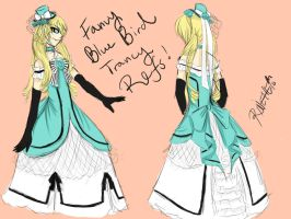blue bird Alois reference by rinette