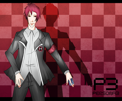 Isamu-Persona OC by Withering-Dreams