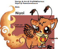 Niyol adoptable(TAKEN) by PawesomeSauce