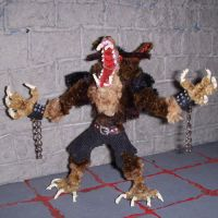 Loup-Garou Figure by the-gil-monster