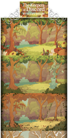 The Keepers of Discord: The Full Background Sheet by SkywardSylphina