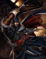 AC Revelations- Ezio by fevereon