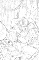 Optimus Prime Pencils by teamzoth